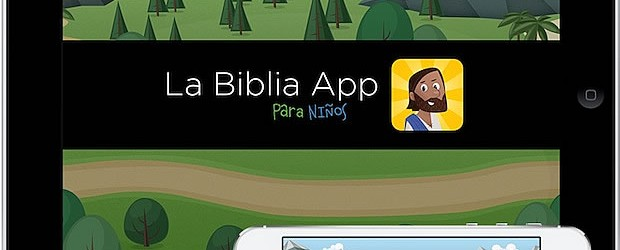 La Biblia App para niños saldrá en español